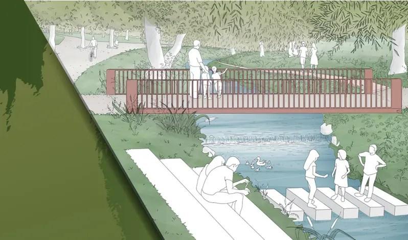 Canalului Morii – tronson Parcul Rozelor