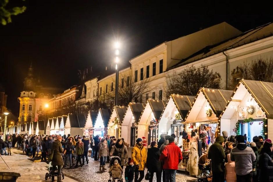 Astăzi se deschide Târgul de Crăciun din Cluj-Napoca