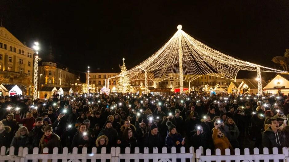 Târgul de Crăciun din Cluj-Napoca a avut aproape un milion de vizitatori