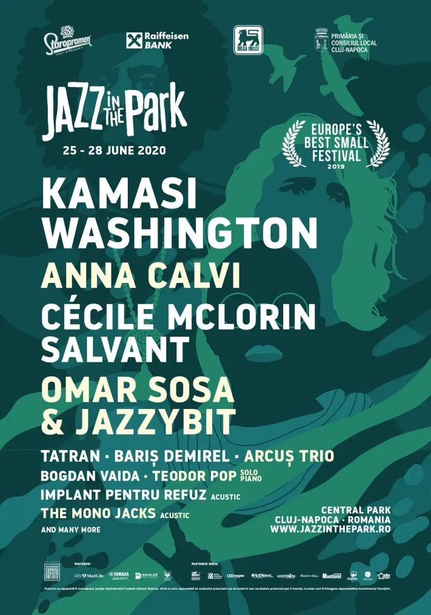 Primii artişti anunţaţi la festivalul Jazz in the Park 2020