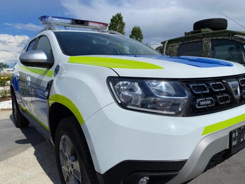 masina noua de politie