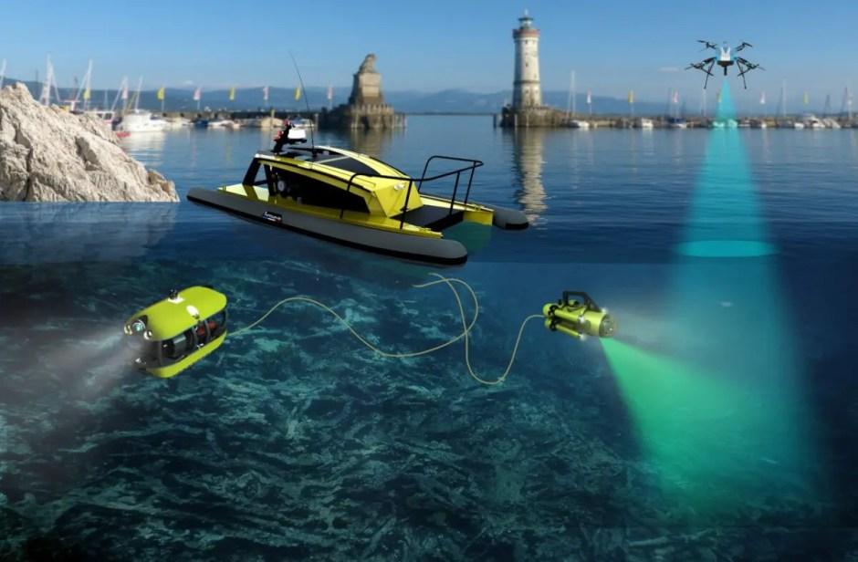 Cercetătorii de la Universitatea Tehnică din Cluj lucrează la primul sistem robotic de curățare a deşeurilor de pe fundul oceanului