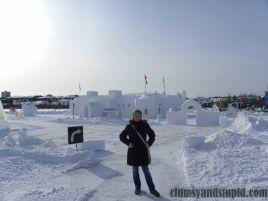Snow Castle in 2012/ Śnieżny Zamek z 2012