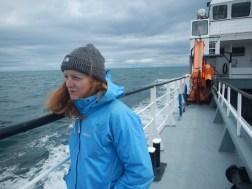 Boat ride to Isla Magdalena