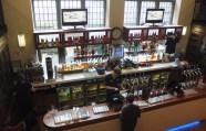 Bar in Edinburgh, Scotland.