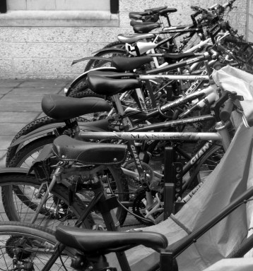 Bikes, University of Stirling, Scotland