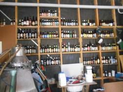 Wall of international beer