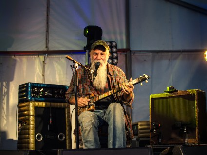 Seasick Steve Blues Guitarist