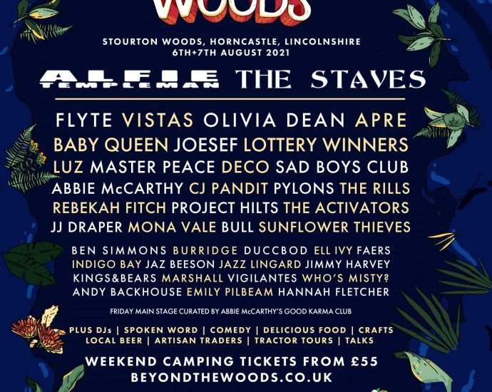 Beyond The Woods Full Line Up