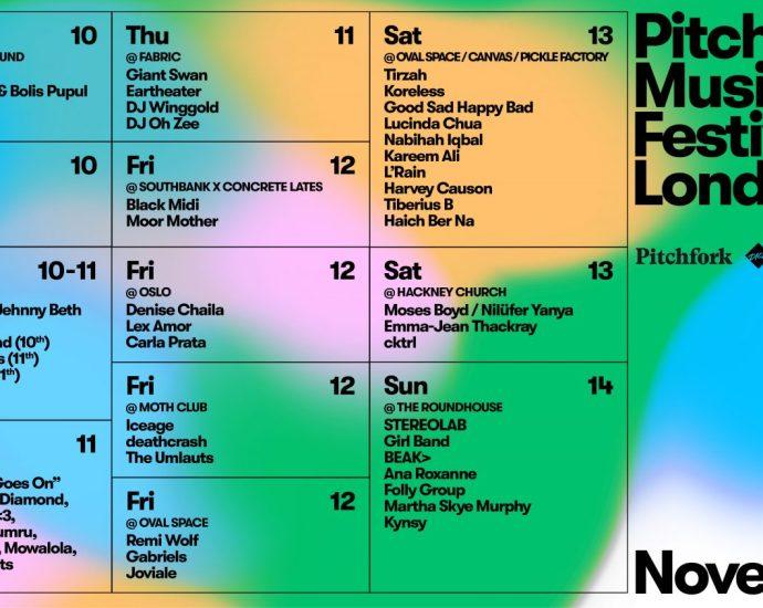 Picthfork Music Festival Line Up