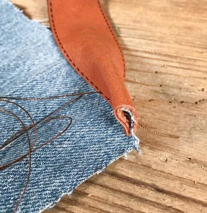 läderband