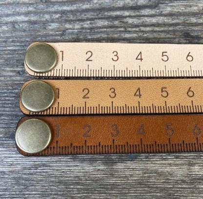MilliM måttarmband bruna