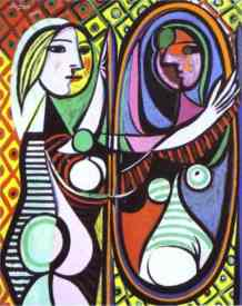 Pablo Picasso - Girl Before a Mirror