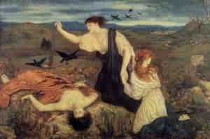 "Antigone da ""Antigone"" di Sofocle - Di Marie Spartali Stillman"