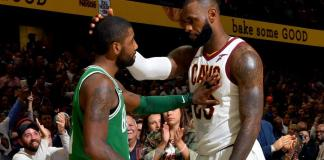 Kyrie Irving及LeBron James將於明星賽重聚。(圖片:NBA)