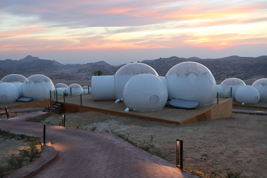 Image result for petra bubble hotel