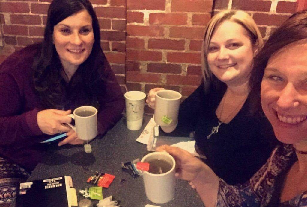 Jenny Powers, Jessica Wielitzka and Cat Bigley