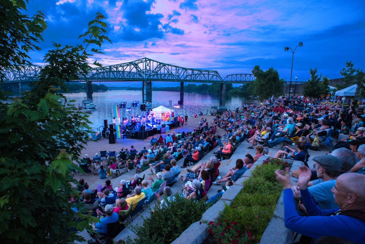 Point Park Music Series in Parkersburg, WV