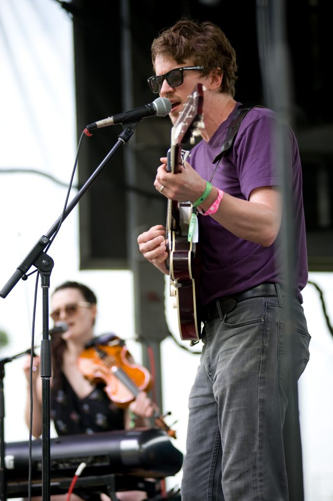 Adam Remnant at Nelsonville Music Festival