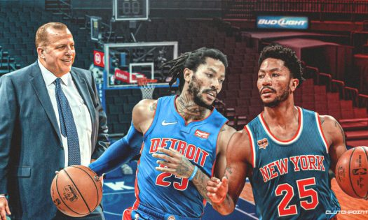 Knicks rumors: New York discussing Derrick Rose trade with ...