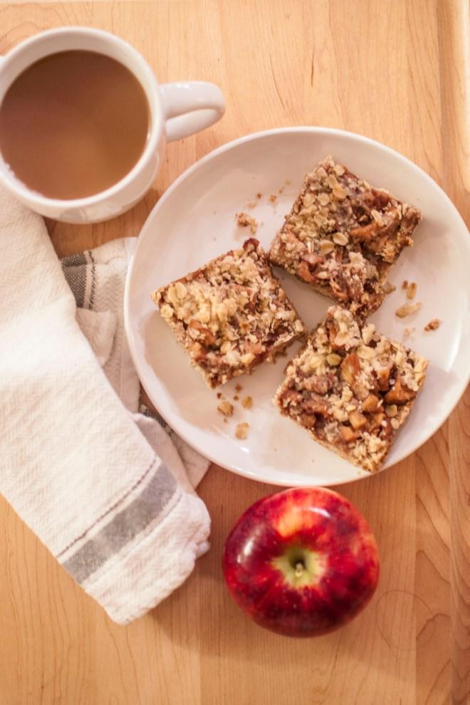 apple crumb bar