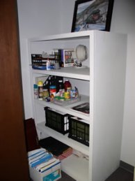 Clutter-free and organized office
