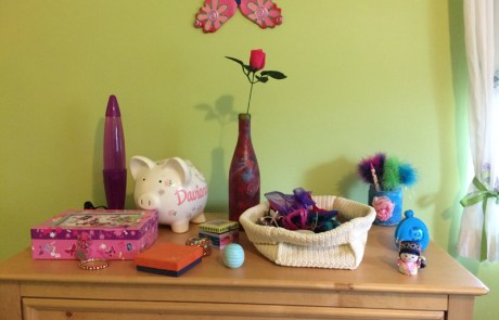 Dressers, decluttered and organized