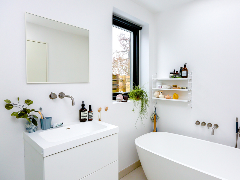 Creative small bathroom storage ideas mindful - Clever storage ideas for small bathrooms ...