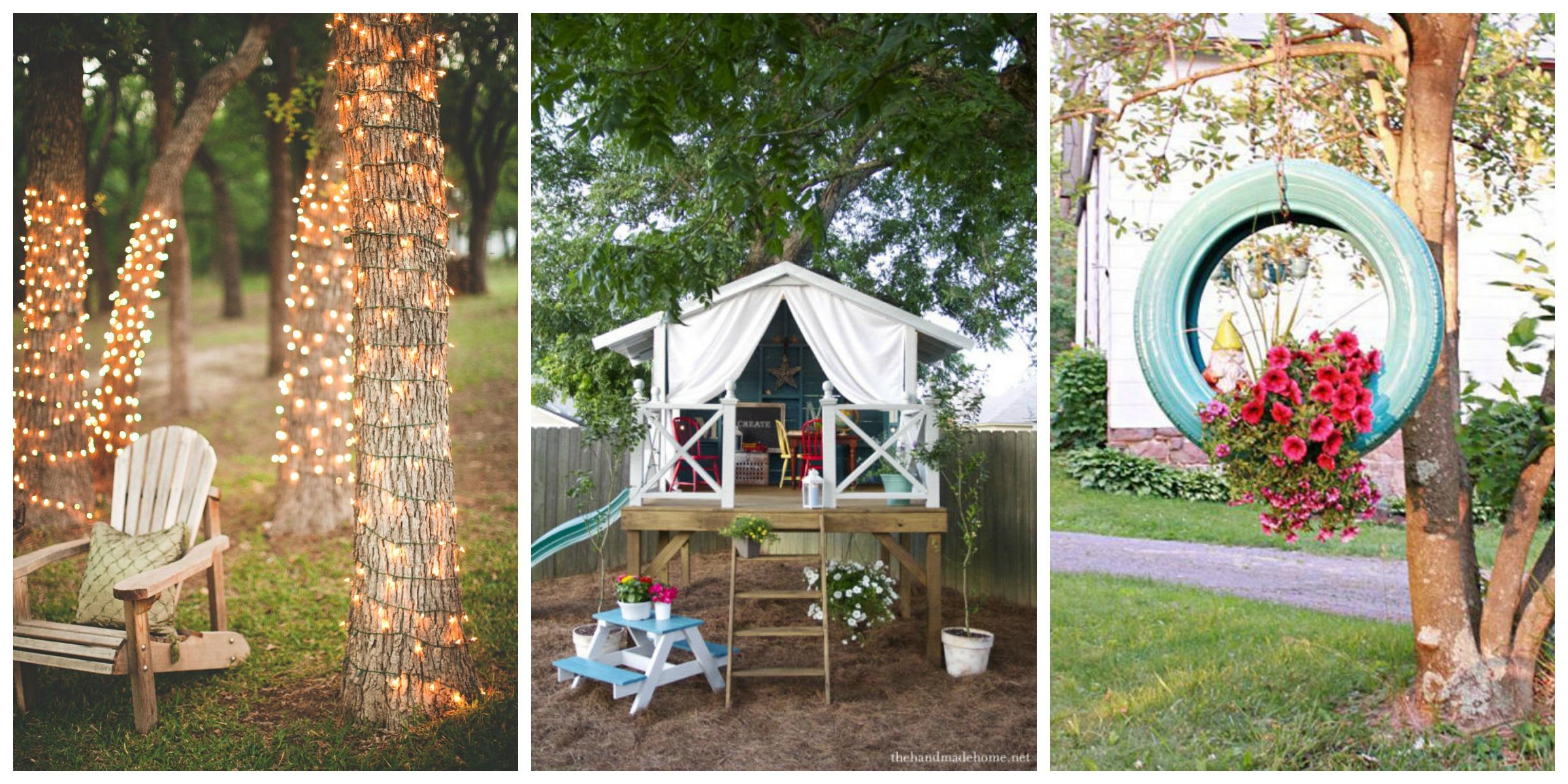 54 DIY Backyard Design Ideas - DIY Backyard Decor Tips on Backyard Decor Ideas  id=85143