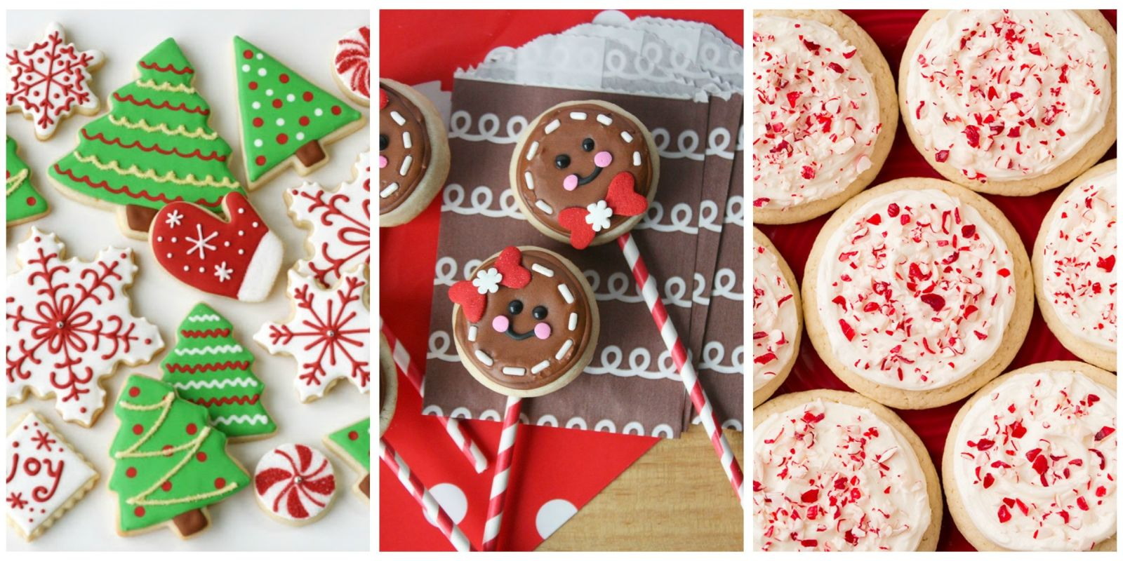 Sugar Cookie Decorating Ideas For Christmas   Elitflat 25 Easy Christmas Sugar Cookies Recipes Decorating
