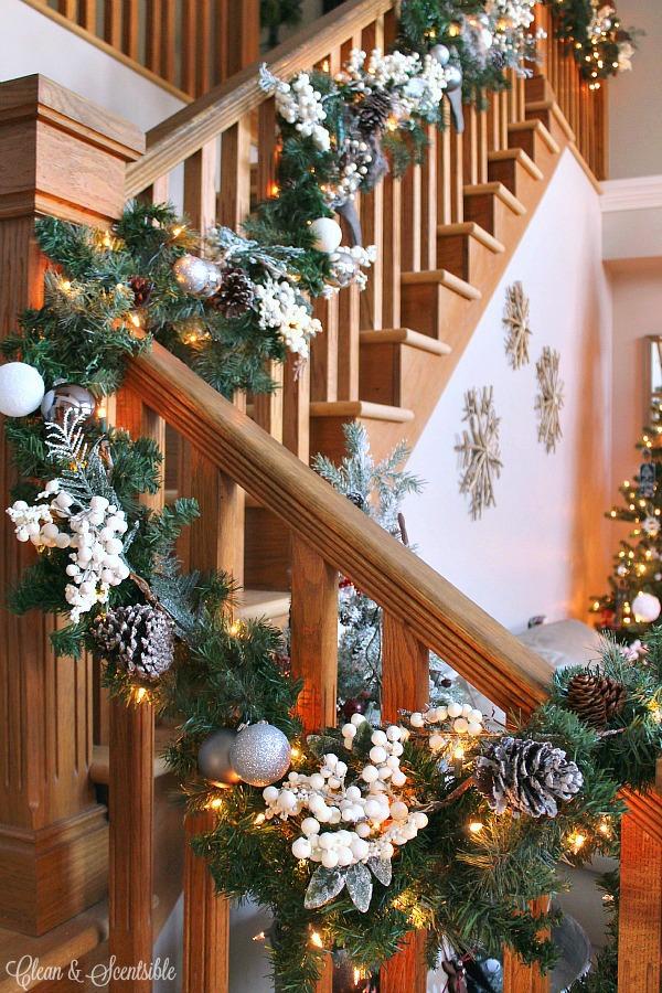 Blogger Christmas House Tour Decorating Ideas How