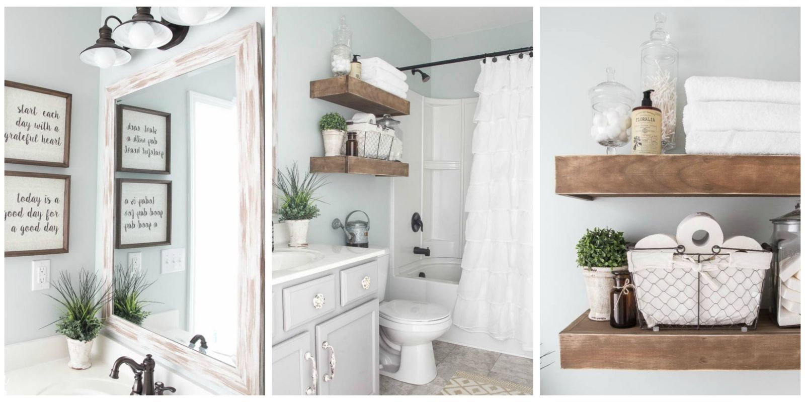 Farmhouse Bathroom Renovation Ideas - Bless'er House Blog ... on Farmhouse Bathroom Ideas  id=41175