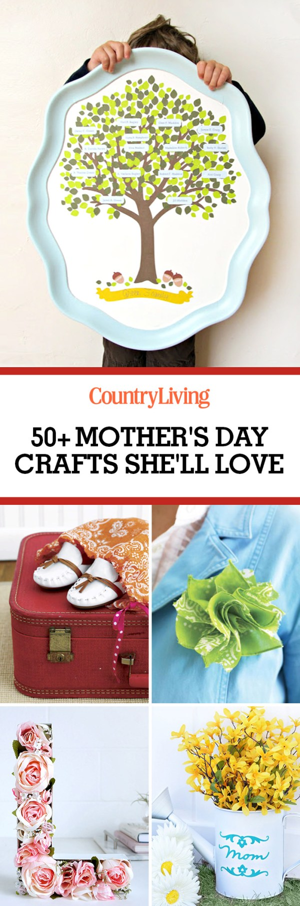 56 Easy Mothers Day Crafts - DIY Gifts for Mom Ideas