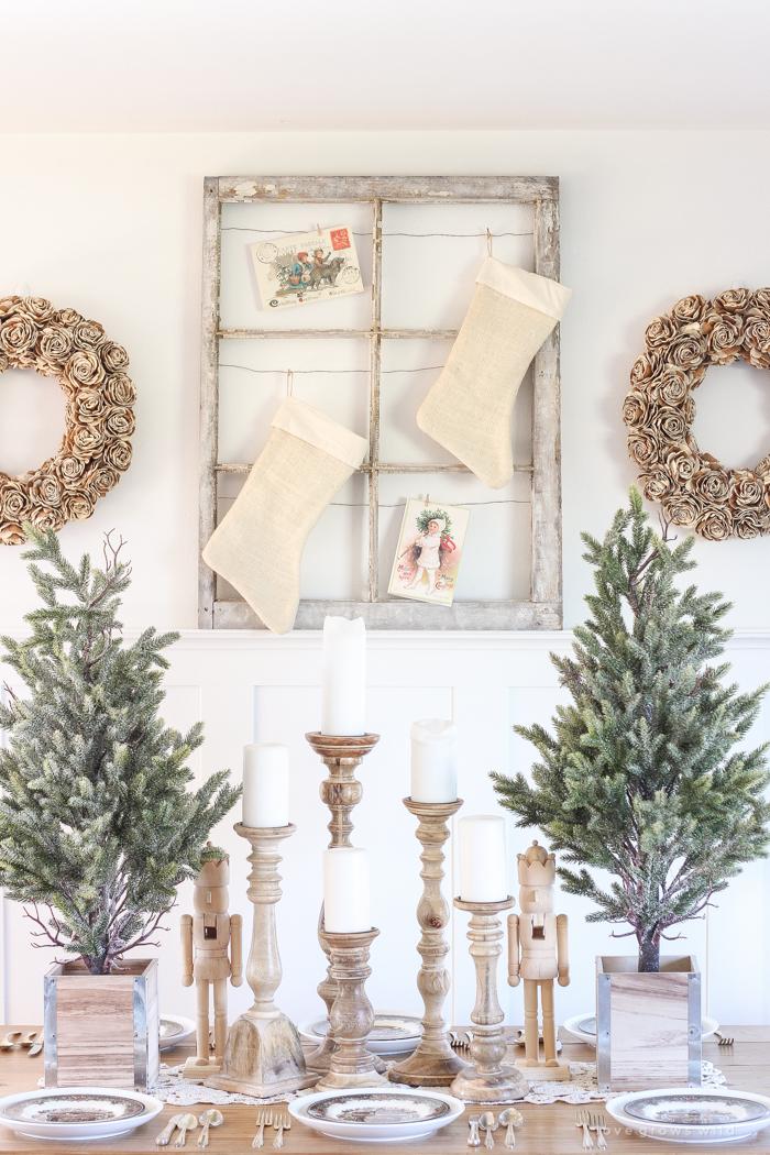 Farmhouse Christmas Decorating Ideas Holiday Decorating