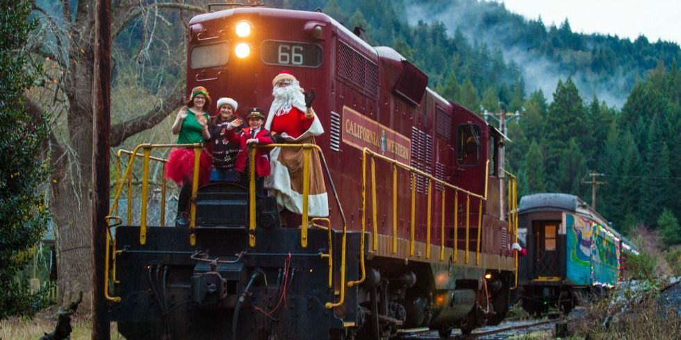 Holiday Train Rides Christmas Train