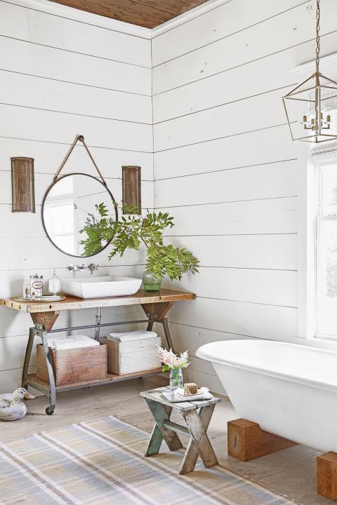 5 Easy Ways To Style a Modern Farmhouse Bathroom on Farmhouse Modern Bathroom Ideas  id=45188