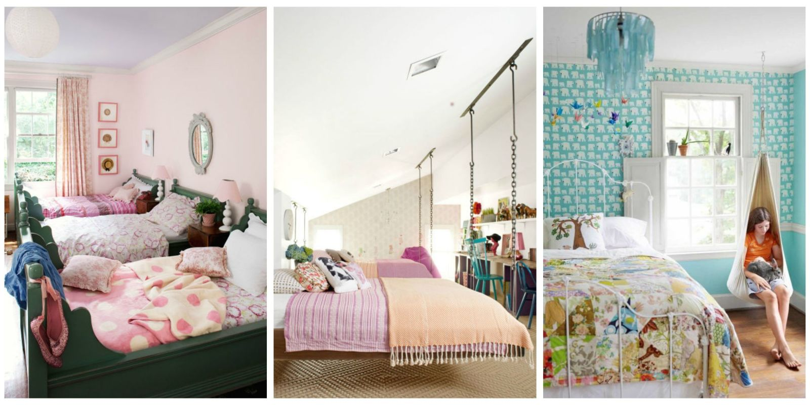 12 Fun Girl's Bedroom Decor Ideas - Cute Room Decorating ... on Girls Room Decorations  id=36665