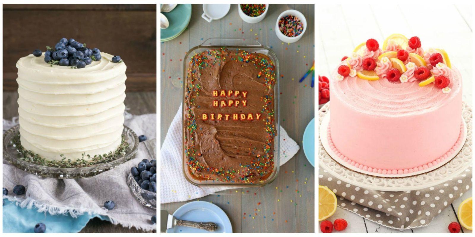 22 Homemade Birthday Cake Ideas