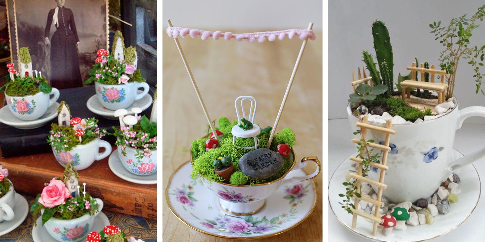 Pinterest Fairy Gardens