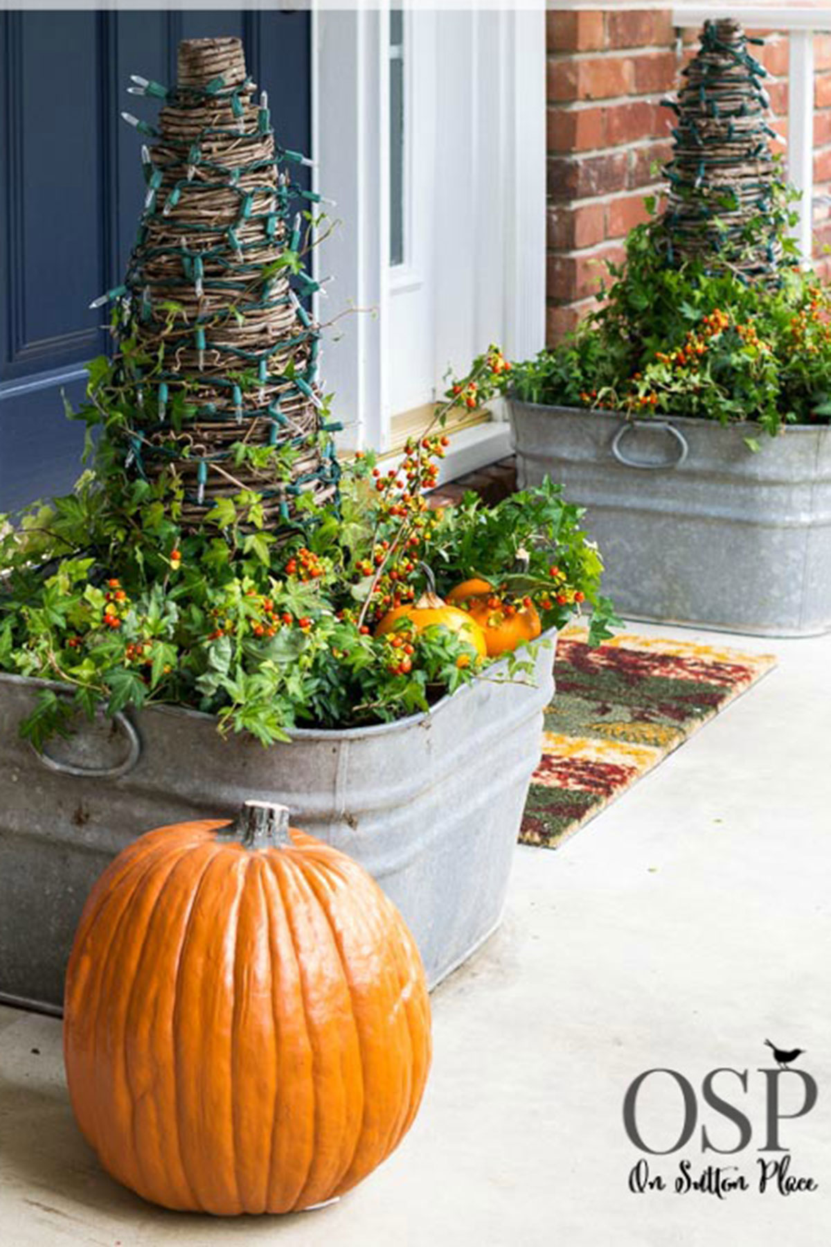30+ Best Outdoor Halloween Decoration Ideas - Easy ... on Patio Decorating Ideas With Lights  id=58077