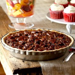 down home blackstrap molasses pecan pie
