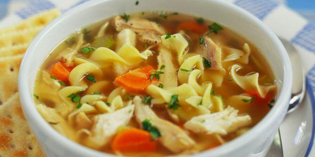 Image result for Vegetable Chicken Noodles Soup