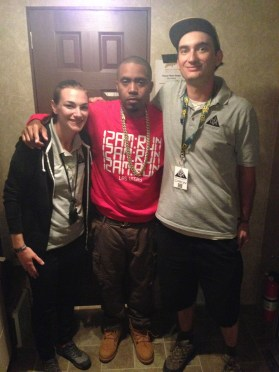 CLVR US provided Video Content Director services for Nas's set @BUKU 2014, 20th anniversary of Illmatic!