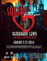 CLVR US provided Dj's and Vj's for Sound Cartel's Sultry Love Hangover with Demarkus Lewis on 2.21.14