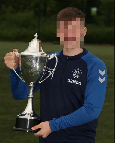 Rangers youth prospect to be investigated after red card for alleged homophobic abuse