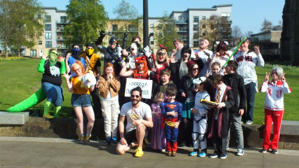 WATCH: More than 1800 turn up to Paisley Comic Con