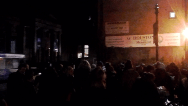 'Reclaim the Night' march against abuse of women goes through Paisley High Street