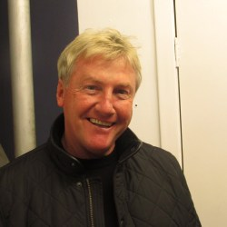 Celtic Legend, Frank McAvennie, made an appearance at the Clyde 'Cash for Kids' event : By Stephen McCabe and Scott Bevan