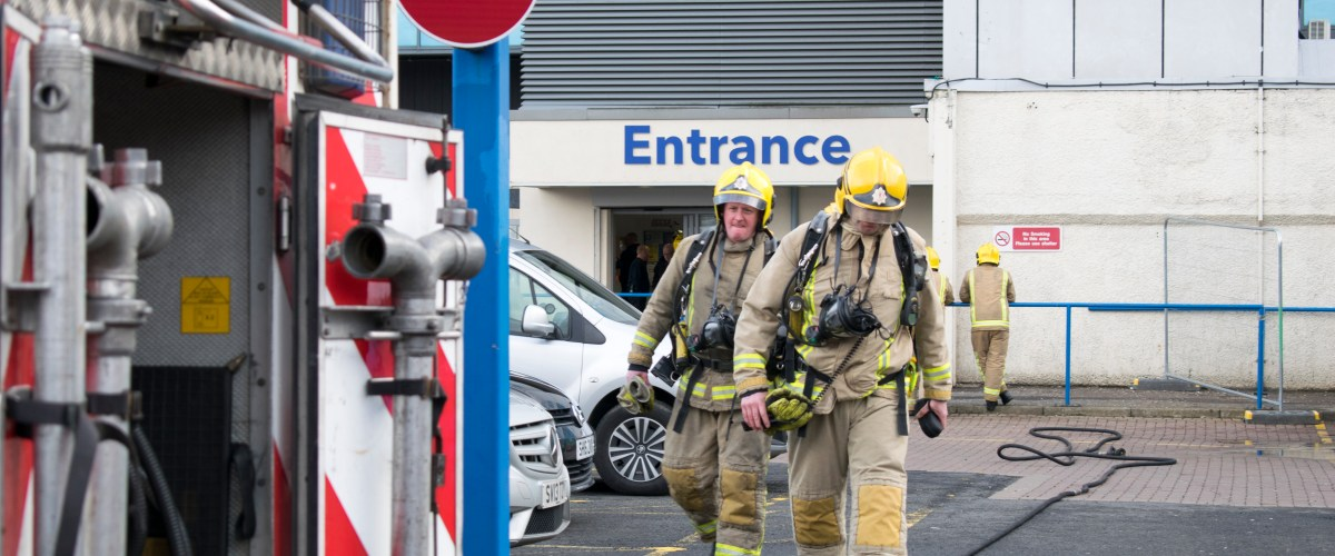 Boiler malfunction set off fire alarms at the Cardonald campus