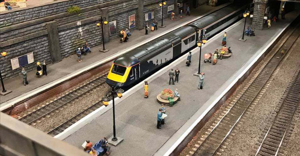 Model Rail Scotland event